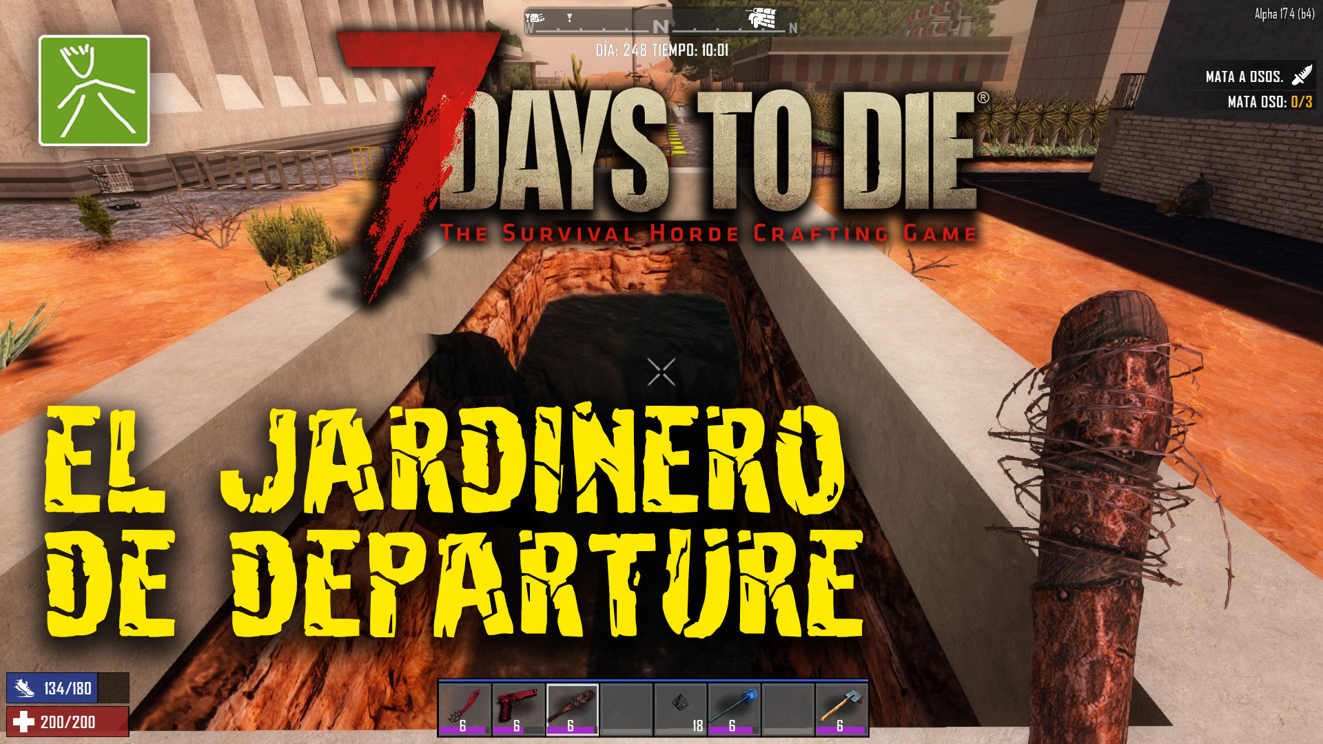 7 Days to Die ep83 | Directo | Jardinero Lord Phase en Departure