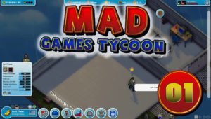 Mad Games Tycoon gameplay español #01