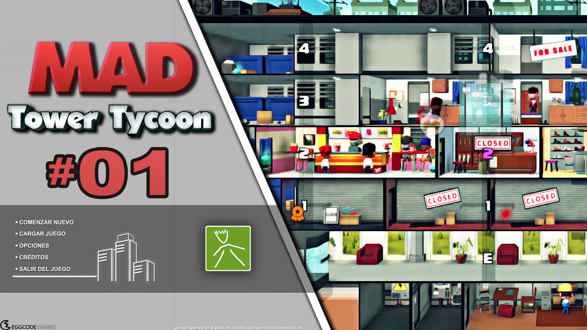 Mad Tower Tycoon ep01 |