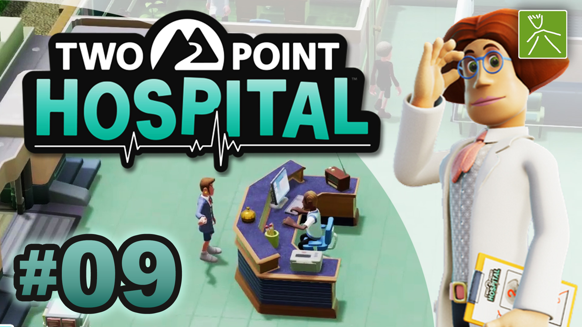 Two Point Hospital ep09 |